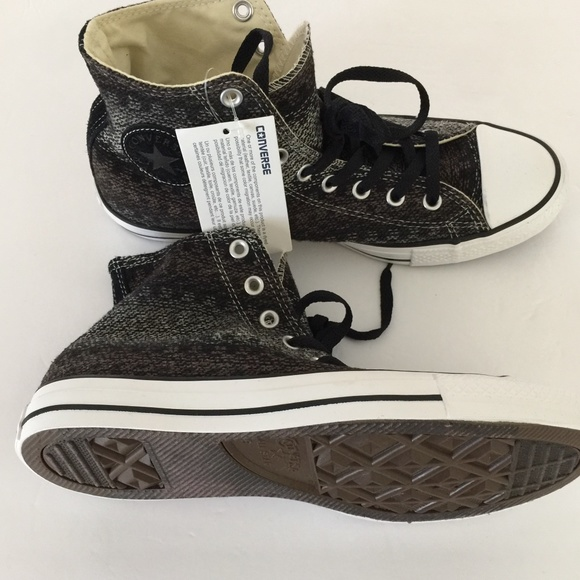 0a4bf66f4b0cb Converse Shoes | 147993f Ct Hi Black White | Poshmark